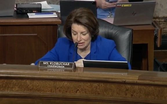 Sen. Klobuchar (D-MN) asks witnesses if they agree that January 6 attack was planned and included white supremacists.