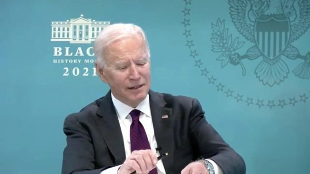 """President Biden: """"I think there's a growing awareness that injecting bleach into your system doesn't do it for you."""""""