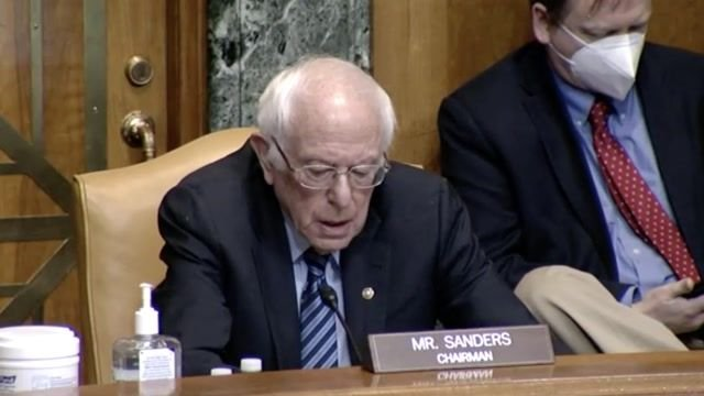 "Sen. Sanders (I-VT) calls Walmart ""the largest welfare recipient"" in U.S. during hearing on taxpayers and corporations."