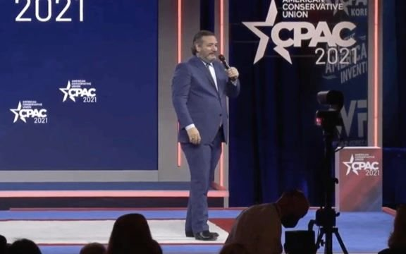 "Sen. Ted Cruz (R-TX) at CPAC: ""Orlando is awesome. It's not as nice as Cancun."""