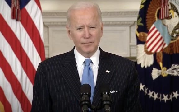 """President Biden: """"This country will have enough vaccine supply for every adult in America by the end of May."""""""