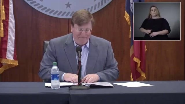 Gov. Reeves (R-MS) lifts all county mask mandates and announces all businesses can operate at 100% capacity.