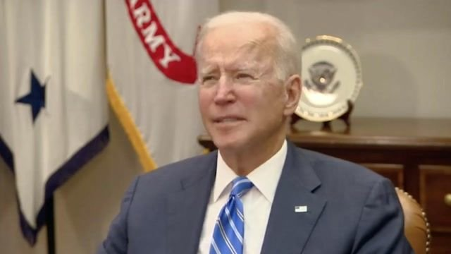 """Biden congratulates the NASA JPL team on a successful Mars landing: """"There's not a damn thing we can't do as a country."""""""