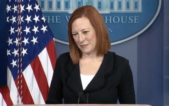 "WH Press Sec. Jen Psaki: ""We don't take our advice or counsel from former President Trump on immigration policy."""