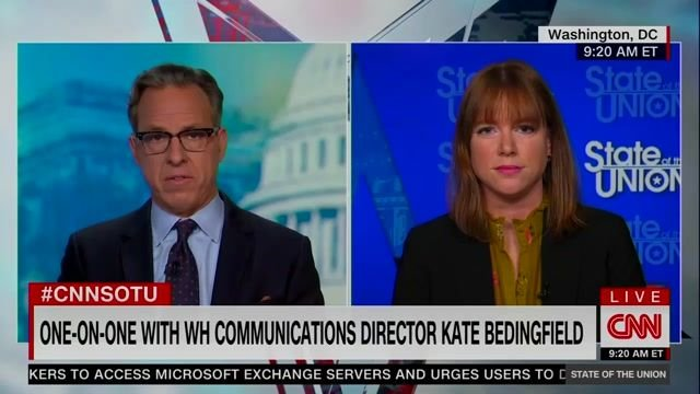 "WH Comms Director Kate Bedingfield on Biden: ""His preference is not to end the filibuster."""
