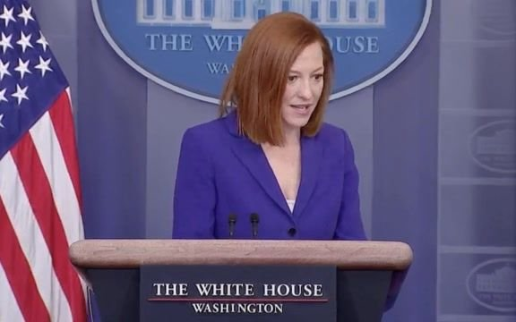 "WH Press Sec. Psaki on relief checks: ""We expect a large number of Americans to receive relief by the end of the month."""