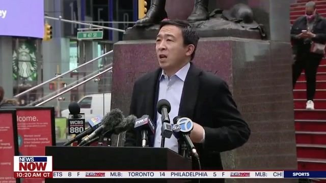 "NYC mayoral candidate Yang on ATL area shootings: ""This is a devastating and heartbreaking day around the country ..."""