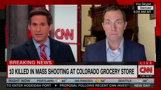 "Follow a mass shooting in his home state, Rep. Jason Crow says ""it's on the Senate"" to get something done on gun safety."