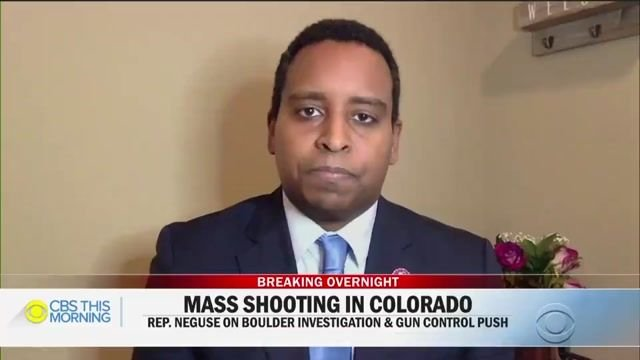 """This is not normal."" -- Rep. Joe Neguse (D-CO) on grocery store shooting in his district that left ten people dead."