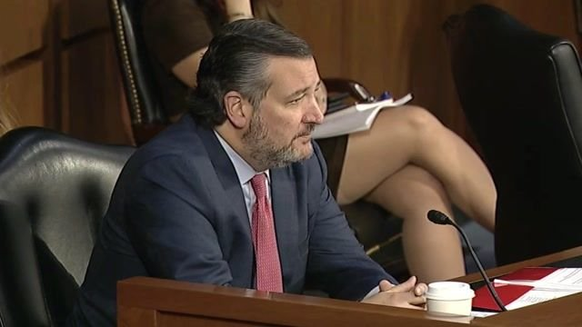 "Sen. Cruz (R-TX) on Dems during gun violence hearing: ""Every time there's a shooting we play this ridiculous theater …"""