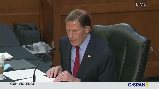 "Sen. Blumenthal (D-CT) on shootings: ""Thoughts and prayers cannot save the 8 victims in Atlanta or the 10 last night."""