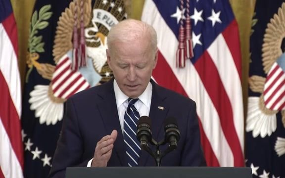 "Biden: Republicans will ""determine whether or not we want to work together or … continue the politics of division."""