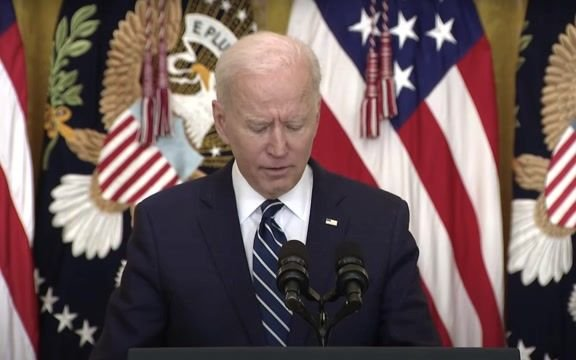 "President Biden says he ""strongly supports"" filibuster reform."