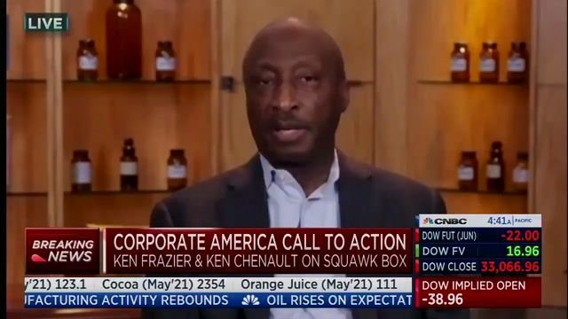 """Merck CEO Ken Frazier hits GA voting bill: """"Democracy depends on every voter... having free and fair access to vote ..."""""""